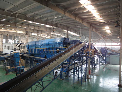 Waste Recycling Sorting Line