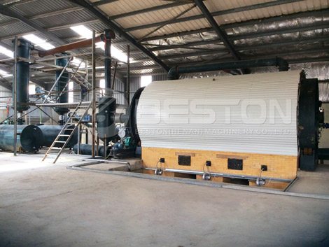 Waste Tyre Pyrolysis Plant