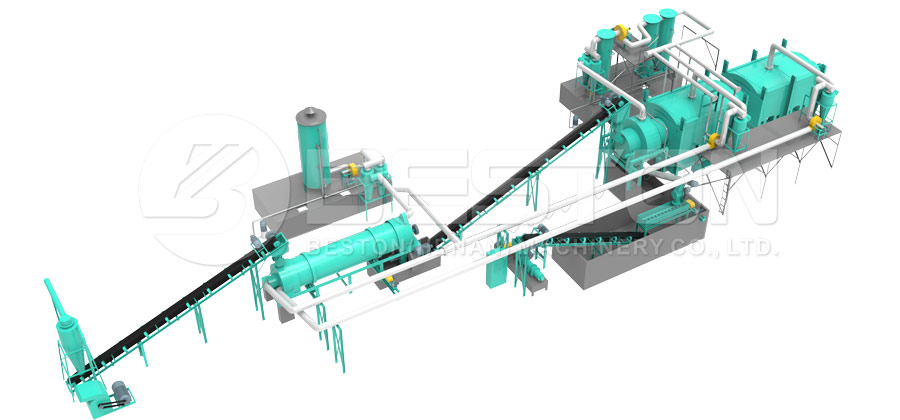 Carbonization Machine